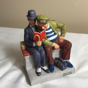 Norman Rockwell porcelain figurine The interloper